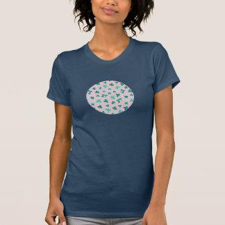 Clover Leaves Women's Crew Neck T-Shirt