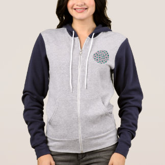 Clover Leaves Women's Full-Zip Hoodie