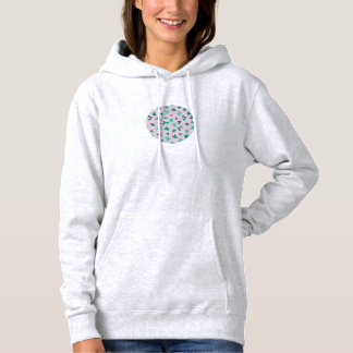 Clover Leaves Women's Hooded Sweatshirt