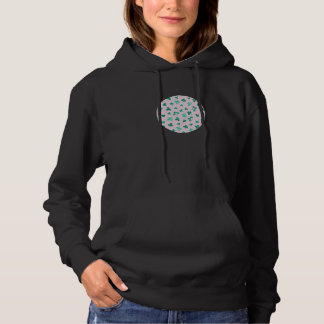 Clover Leaves Women's Hooded Sweatshirt