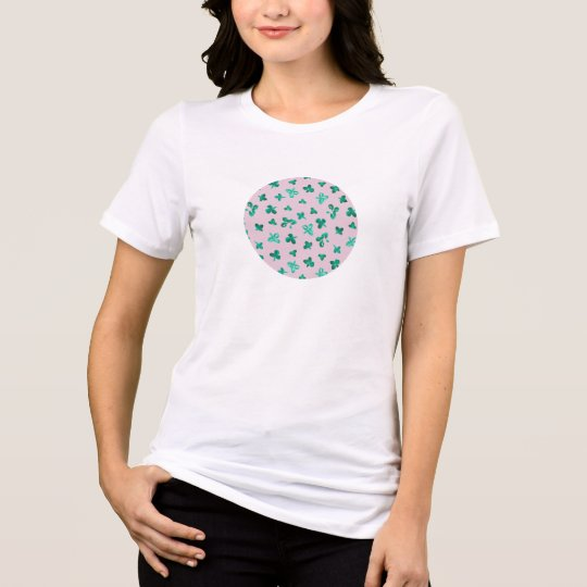 Clover Leaves Women's Relaxed Fit T-Shirt