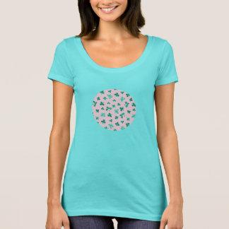 Clover Leaves Women's Scoop Neck T-Shirt