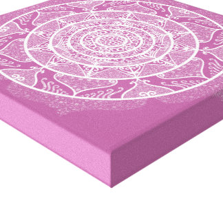 Clover Mandala Canvas Print