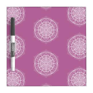 Clover Mandala Dry Erase Board