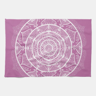 Clover Mandala Kitchen Towel