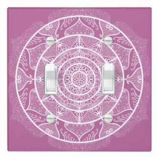 Clover Mandala Light Switch Cover