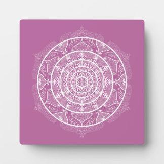 Clover Mandala Plaque