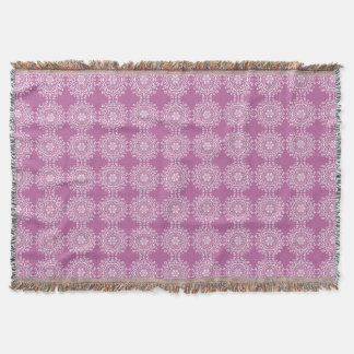 Clover Mandala Throw Blanket