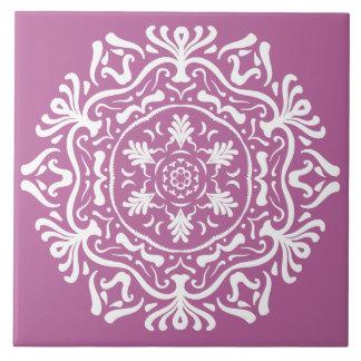 Clover Mandala Tile
