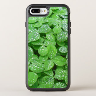 Clover Meadow Leaves Spring Rain Dew Green Leaf OtterBox Symmetry iPhone 8 Plus/7 Plus Case