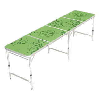 Clover Over and Over Pong Table