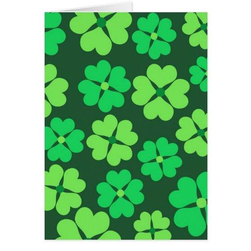 Clover pattern - Card
