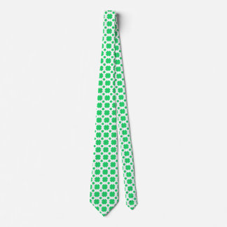 Clover Patterned Tie