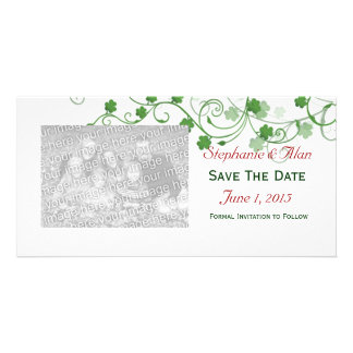 Clover Save The Date PhotoCards Photo Card