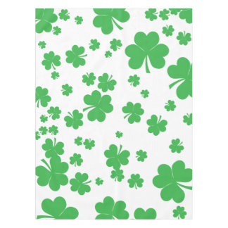 Clover shamrock, st patrick's day party, Irish Tablecloth
