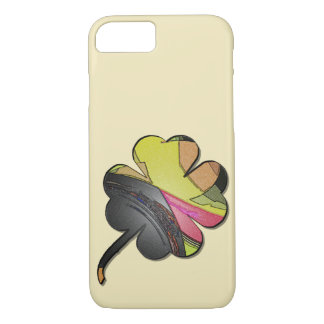 Clover sheet multicolored examined iPhone 8/7 case