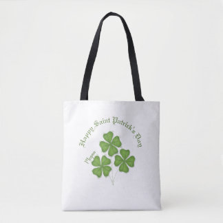 Clover St. Patrick's Day Tote Bag