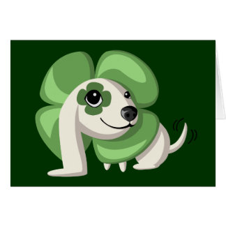 Clover the Dog Card