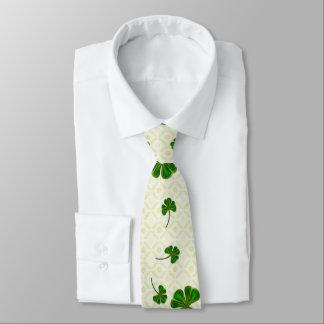 Clover Trail Whimsical Folk Art Tie
