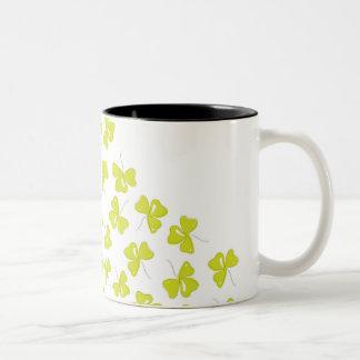 Clover Two-Tone Coffee Mug