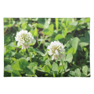 Clovers and Flowers Placemat