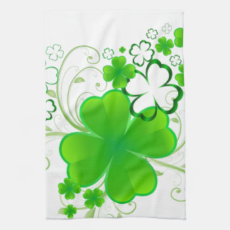 Clovers and Swirls Kitchen Towels