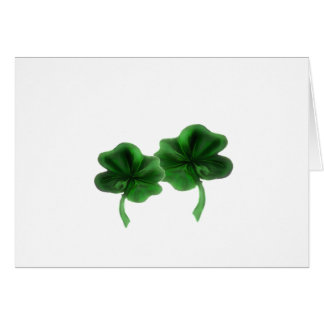 clovers card