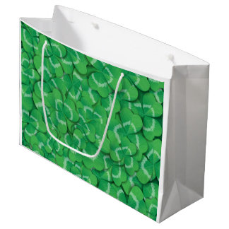 Clovers Large Gift Bag