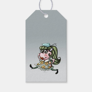 CLOVIS CUTE ALIEN CARTOON  GIFT TAG