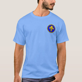 Clovis I Blue and Gold Seal Shirt