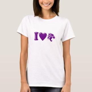 """Clovis """"I Heart Wildcats"""" T-Shirt"""