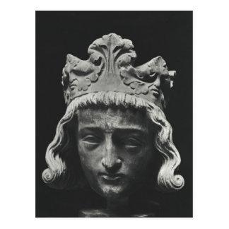 Clovis II , Merovingian Frankish Postcard