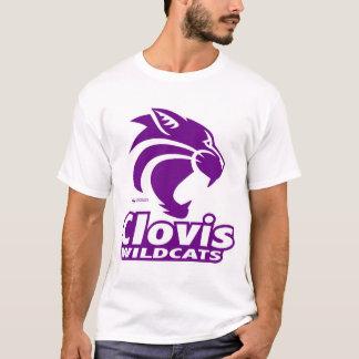 Clovis Wildcats Logo T-Shirt