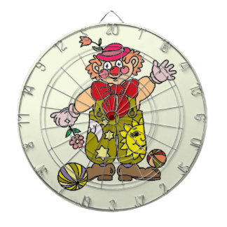 Clown 1 dartboard