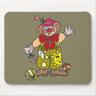 Clown 1 mouse pad