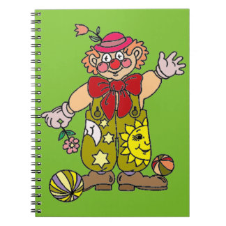 Clown 1 notebook