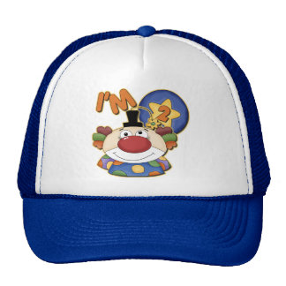 Clown 2nd Birthday Greeting Card Trucker Hat