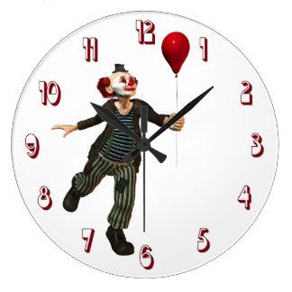 Clown 3 Wall Clock