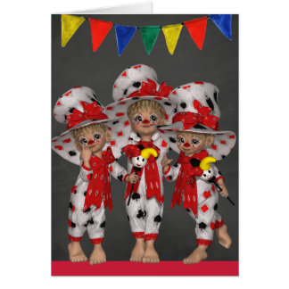 Clown all Occasion Greeting Card