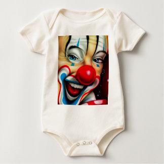 Clown Baby Bodysuit