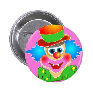 Clown Pinback Buttons