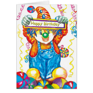 *Clown* Card