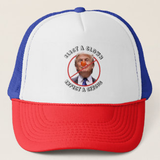 Clown & Circus Anti Donald Trump Baseball Cap