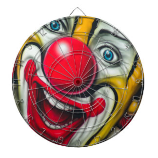 Clown Dart Boards