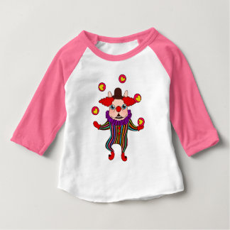 Clown Dog Frenchie entertains you with his love Baby T-Shirt