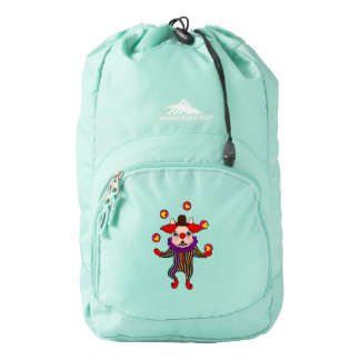 Clown Dog Frenchie entertains you with his love Backpack