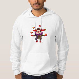 Clown Dog Frenchie entertains you with his love Hoodie