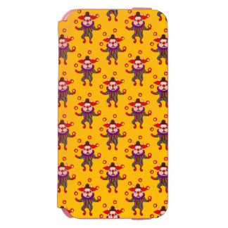 Clown Dog Frenchie entertains you with his love Incipio Watson™ iPhone 6 Wallet Case