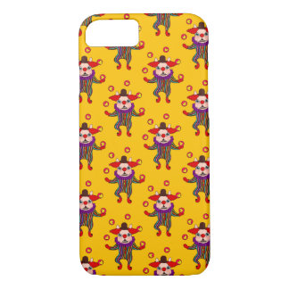 Clown Dog Frenchie entertains you with his love iPhone 7 Case
