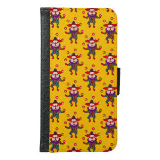 Clown Dog Frenchie entertains you with his love Samsung Galaxy S6 Wallet Case